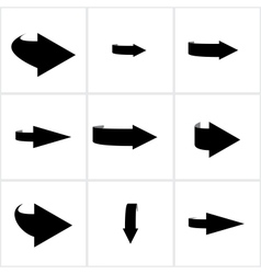 circular arrows vector image