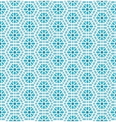 Oriental mosaic seamless pattern vector image vector image