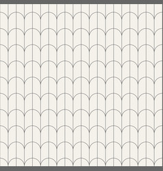 abstract seamless pattern of rounded tiles vector image