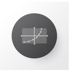 analytics icon symbol premium quality isolated vector image