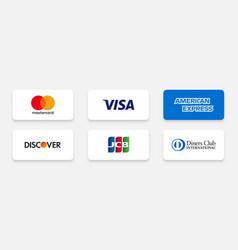Delhi india - february 27 2021 popular credit vector