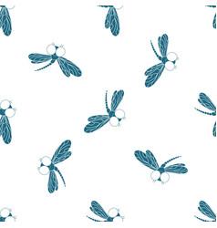 flying adder design of packing paper wallpaper vector image