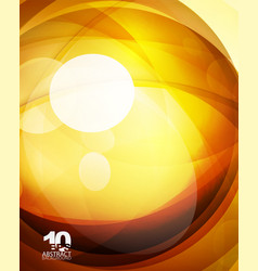 Glossy glass shiny bubble abstract background vector