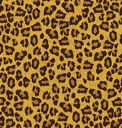 leopard skin texture seamless pattern vector image