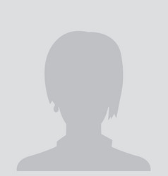 profile placeholder default avatar vector image