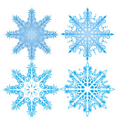 Snowflakes design vector