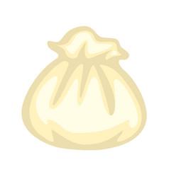 uncooked raw dumpling vector image