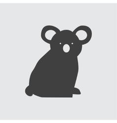 Koala icon vector image vector image