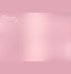 pink gold background rose gold metallic texture vector image