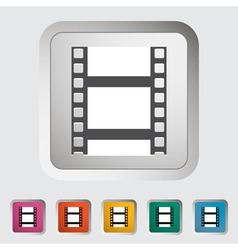 Videotape vector image