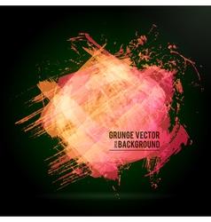 Vintage Design Background Dark vector image