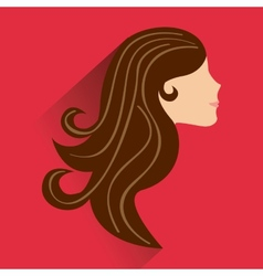 beautyfull woman design vector image