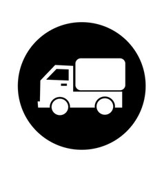 car truck icon design vector image