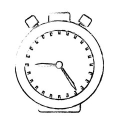 Chronometer device isolated icon vector