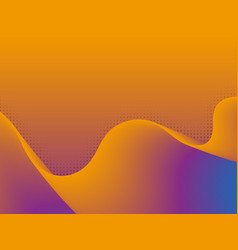 dynamic 3d background with wave vector image