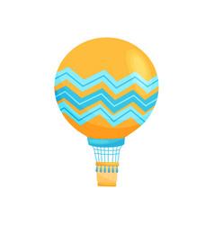 hot air balloon concept flat vector image