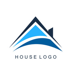 house home residence logo icon vector image