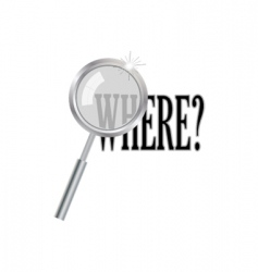 Magnifier with where question vector
