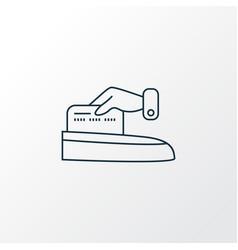 make payment icon line symbol premium quality vector image