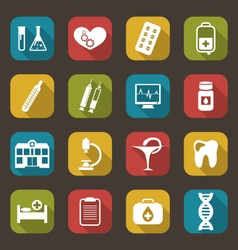 Medical Elements and Objects vector image