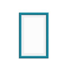 Modern photo frame vector