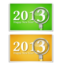 New Year Banners vector image