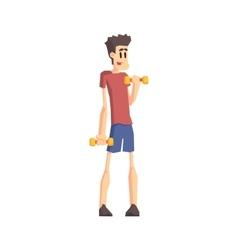 Skinny Guy n Gym vector