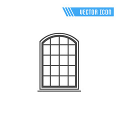 window icon sign symbol vector image