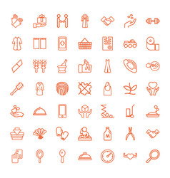 49 hand icons vector