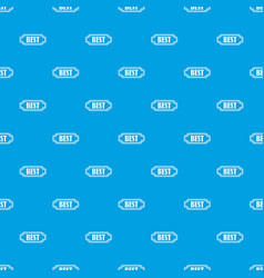 Best rectangle label pattern seamless blue vector