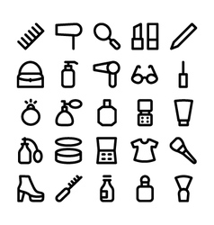 Clothes Icons 5 vector image
