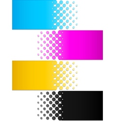 CMYK colors 3 vector