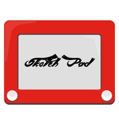 Etch A Sketch - Sketch Pad vector