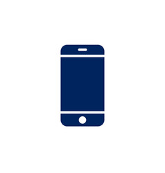 smartphone icon cellphone screen mockup vector image