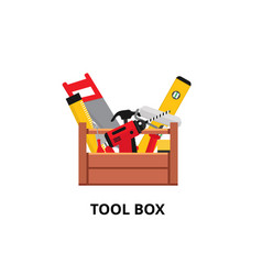 tool box vector image
