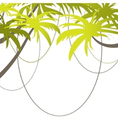 Tropical beach banner vector illustration vector