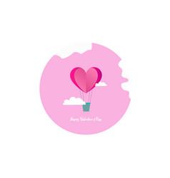 Valentines day card design vector