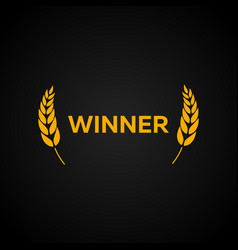 winner laurel film awards winners film awards vector image