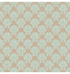Vintage Floral Filigree Pattern vector image vector image