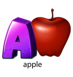 A letter a vector