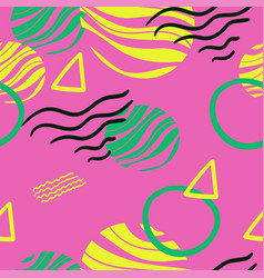abstract seamless multicolor pattern for fabrics vector image