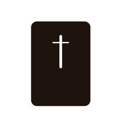 bible icon vector image