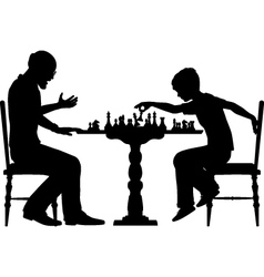 Chess prodigy vector image