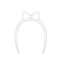 Claw hair clip vector