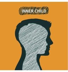 Concept of inner child vector