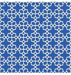 Geometric seamless pattern islamic art vector