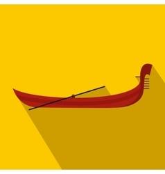 Gondola icon flat style vector image