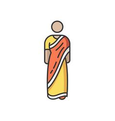 Sari rgb color icon vector
