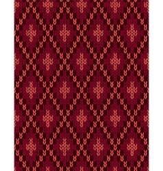 Seamless Knitwear Textile Pattern vector