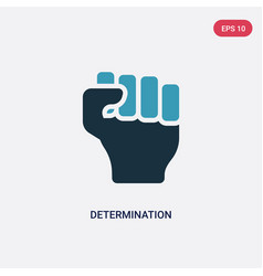 Two color determination icon from nature concept vector